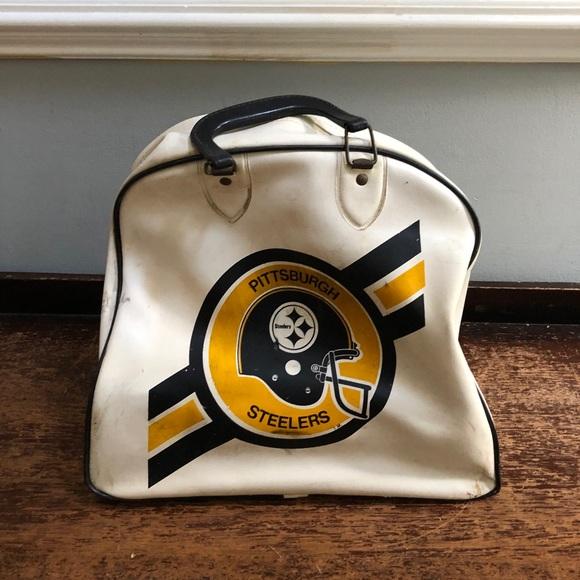2c5d02c5 VTG Pittsburgh Steelers Bowling Ball Bag